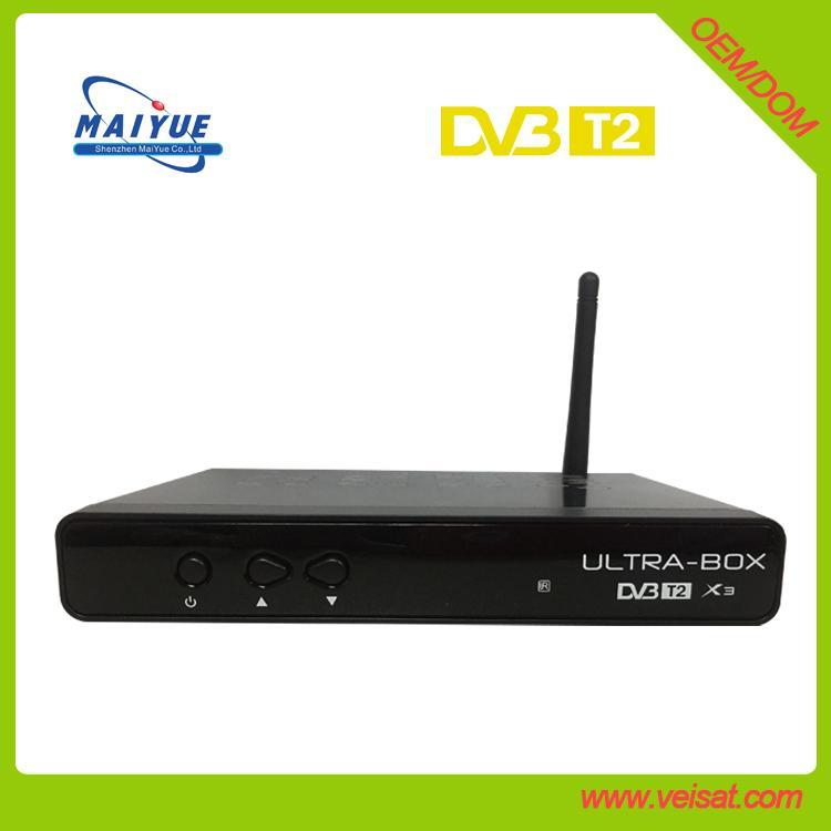 ultra box x3 dvb t2 电视接收机 支持 iptv h.265 4
