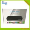 ultra box v8 pro combo电视接收机dvb t2 dvb s2 4