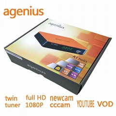 Agenius A1 twin DVB-S2 T (Hot Product - 1*)