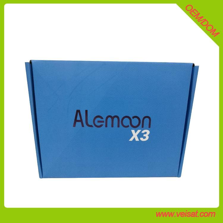 Alemoon X3 DVB-T2 地面接收衛星機頂盒支持H.265 HEVC 1