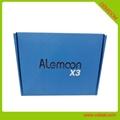 Alemoon X3 DVB-T2 地面接收卫星机顶盒支持H.265 HEVC