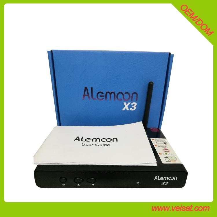Alemoon X3 DVB-T2 地面接收卫星机顶盒支持H.265 HEVC 2