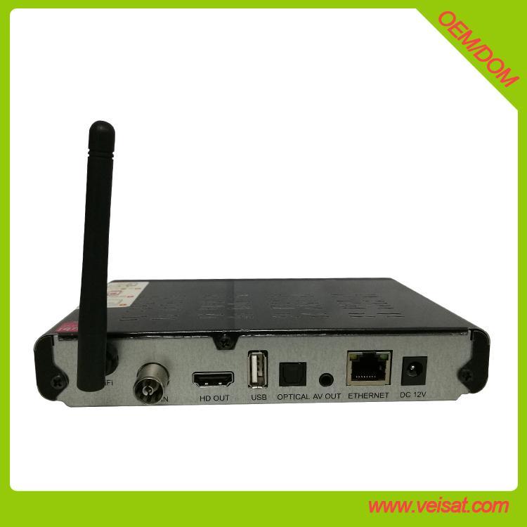 Alemoon X3 DVB-T2 地面接收卫星机顶盒支持H.265 HEVC 4