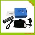 Alemoon X3 DVB-T2 地面接收卫星机顶盒支持H.265 HEVC 9