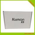 Alemoon X5 DVB-S2+T2 Combo 机顶盒支持CASTING