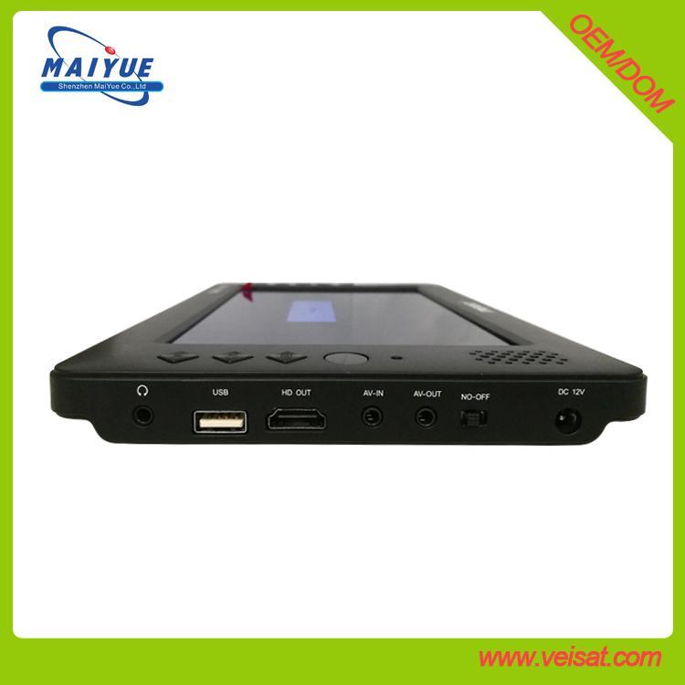 9寸迷你便攜式電視DVB-T2 H.265 HEVC功能 2