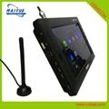 9寸迷你便攜式電視DVB-T2 H.265 HEVC功能 4
