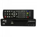 DVB-S2 + DVB-T2 Combo 支持H.265 與POWER VU