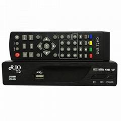 DVB-S2 + DVB-T2 Combo 支持H.265 与POWER VU