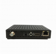 Full HD receiver with smart card sharing linux system