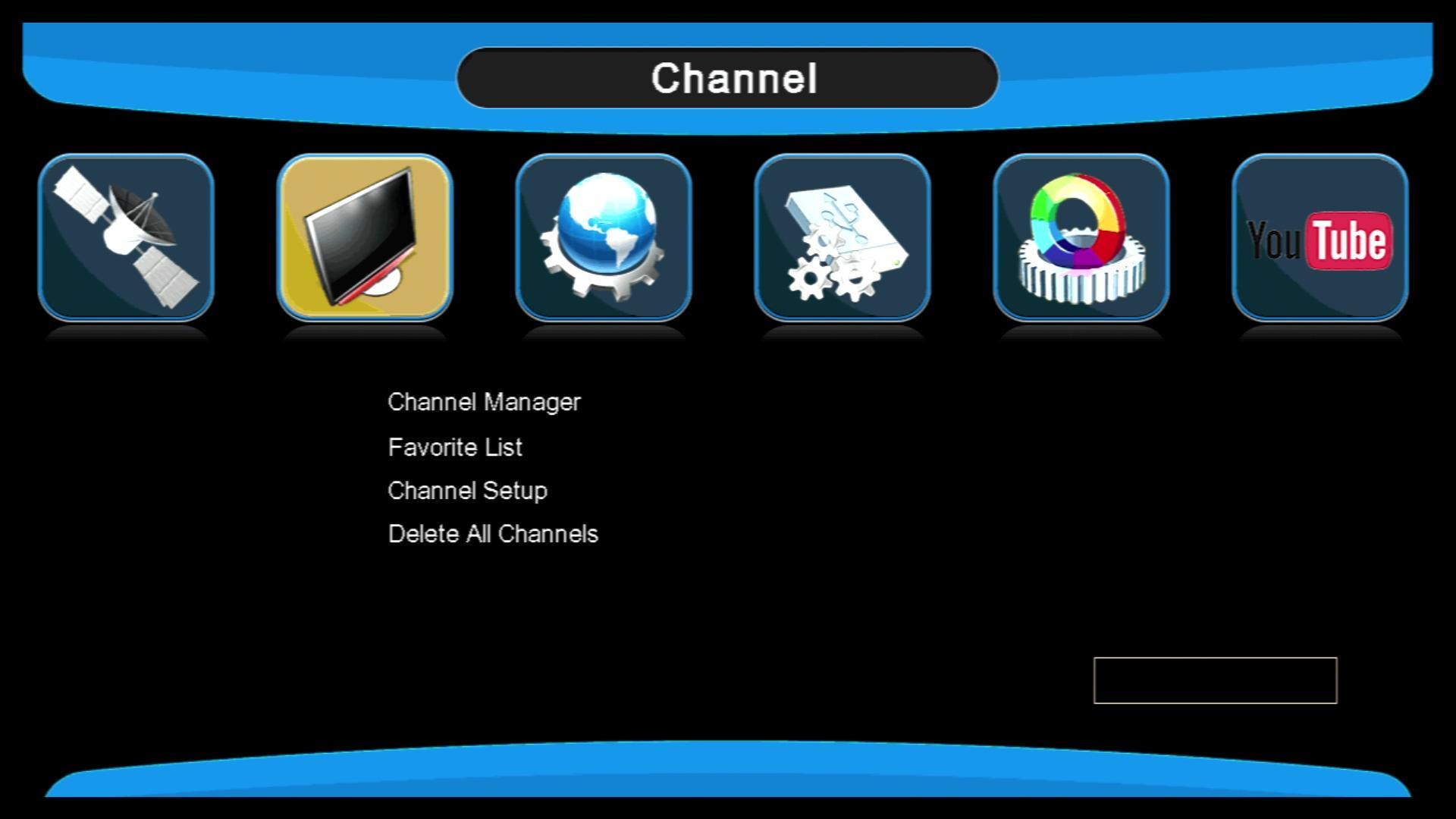 高清迷你SUNPLUS 1506G DVB-S2中东热销卫星机顶盒 7