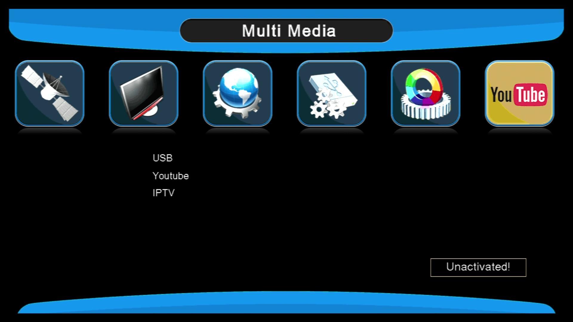 高清迷你SUNPLUS 1506G DVB-S2中東熱銷衛星機頂盒 9