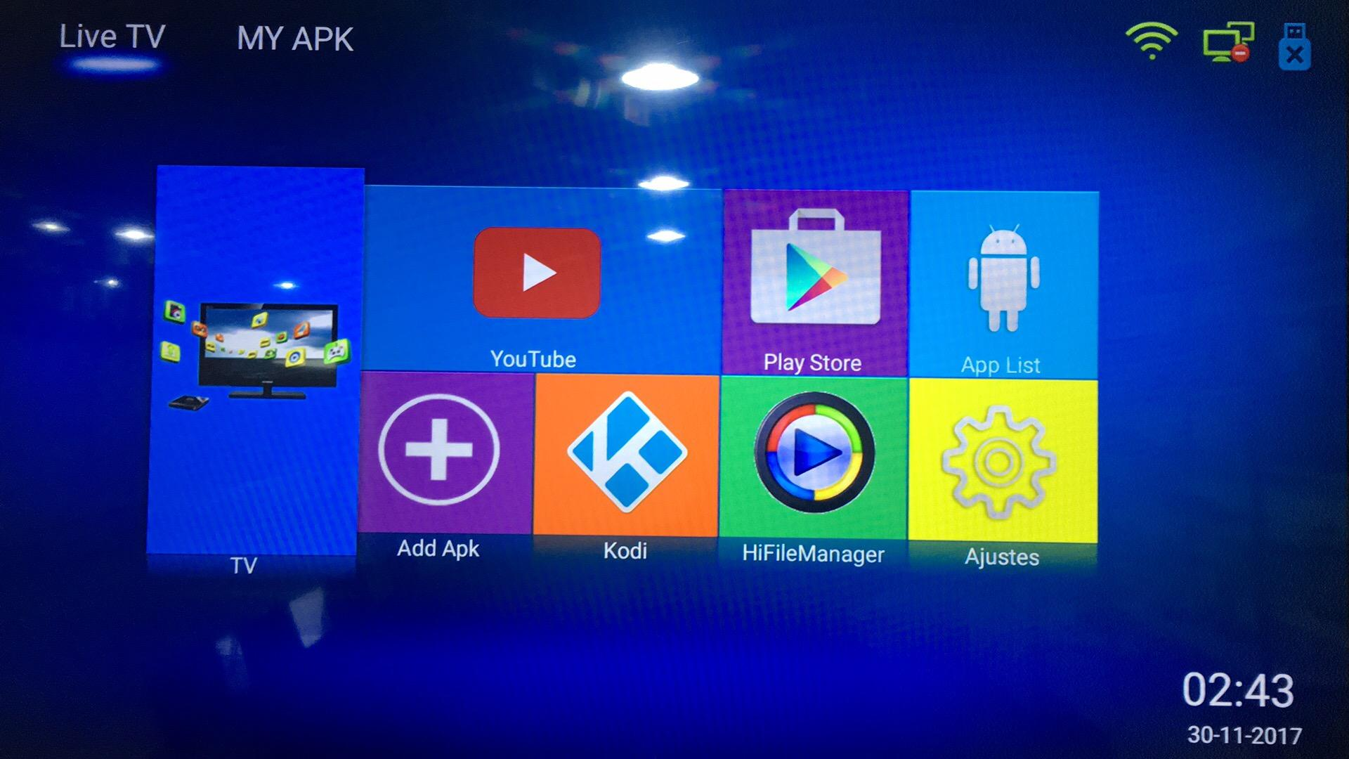 厂家直销安卓超高清巴西IPTV V8 PLUS DVB-S2接收机带半年服务 7