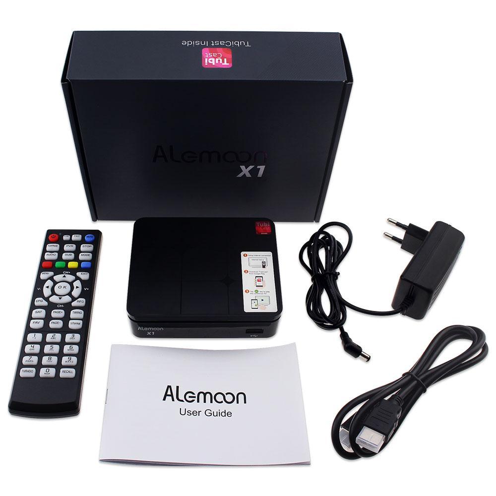 全球通用現貨Alemoon X1 DVB-S2 IPTV高清機頂盒 1