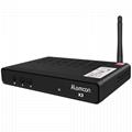 Alemmon X3廠家高清數字機頂盒內置WIFI支持IPTV帶投屏功能