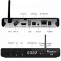 Alemmon X3厂家高清数字机顶盒内置WIFI支持IPTV带投屏功能 6