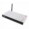 厂家直销超高清Alemoon X5 DVB-S2+T2 Combo电视接受机内置WIFI带投屏功能 4