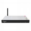厂家直销超高清Alemoon X5 DVB-S2+T2 Combo电视接受机内置WIFI带投屏功能 2