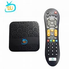 巴西高清安卓IPTV电视接收机带2年免费服务