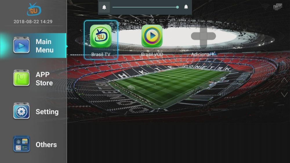巴西高清安卓IPTV电视接收机带2年免费服务 6