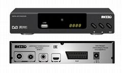 廠家特價歐洲高清有線數字機頂盒DVB-C帶杜比Scart接口