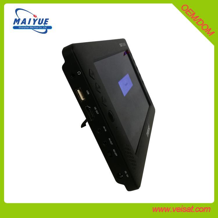 "9"" car DVB-T2 set top box support H.264 & H.265 HEVC"