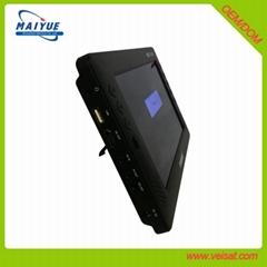 """9"""" 屏车载DVB-T2机顶盒 H.264 & H.265 HEVC"""