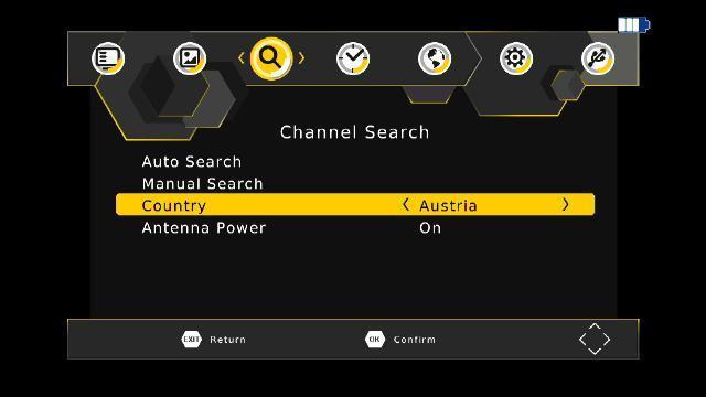 """9"""" 屏车载DVB-T2机顶盒 H.264 & H.265 HEVC 4"""