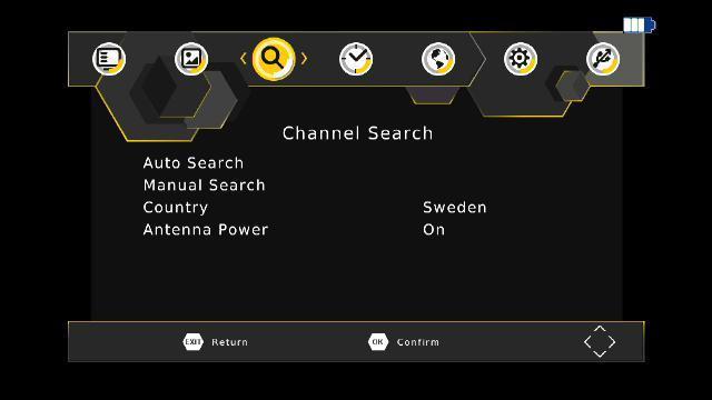 """9"""" 屏車載DVB-T2機頂盒 H.264 & H.265 HEVC 8"""