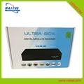 安卓系统DVB-S2X卫星接收器4K H.265支持 2