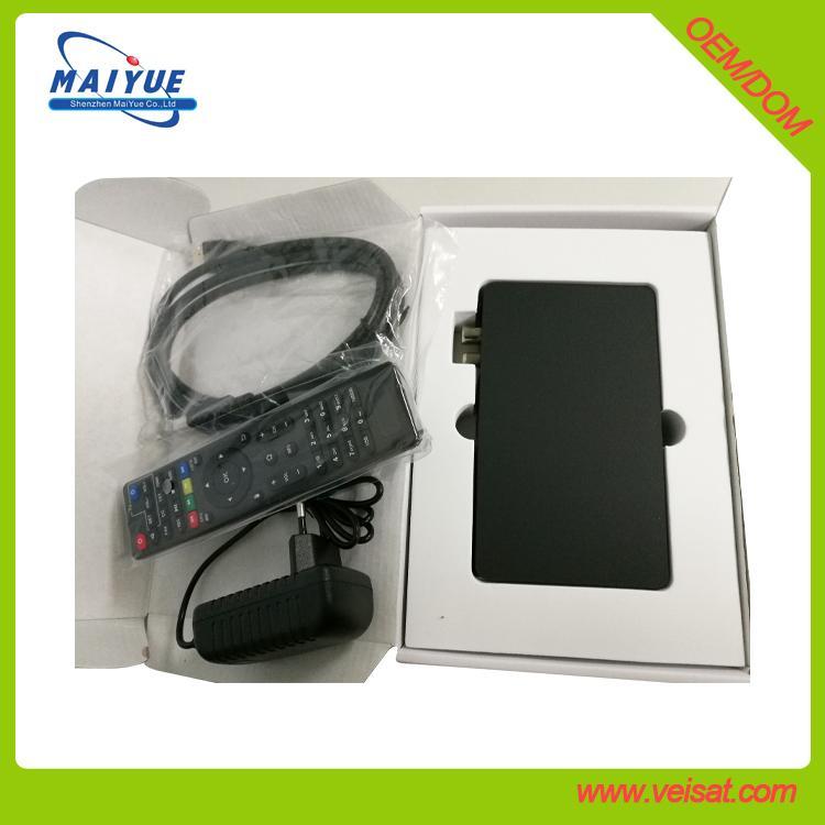 安卓系统DVB-S2X卫星接收器4K H.265支持 4