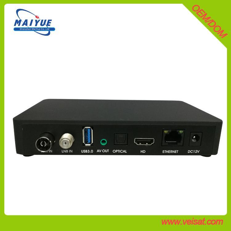 安卓+E2 DVB-S2+T2/C Combo 机顶盒欧洲市场 1