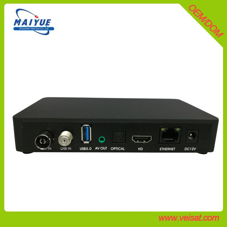 Android + E2 Linux DVB-S2+T2/C combo set top box for Europe market 1