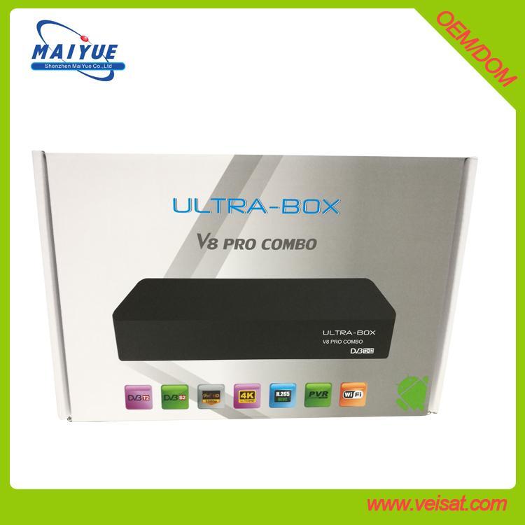 安卓+E2 DVB-S2+T2/C Combo 机顶盒欧洲市场 3