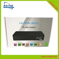 Android + E2 Linux DVB-S2+T2/C combo set top box for Europe market 3