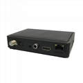 Linux system DVB-S2 H.265 HEVC digital satellite receiver