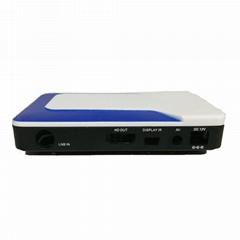 迷你DVB-S2 GX6605S电视盒支持TKGS土耳其市场
