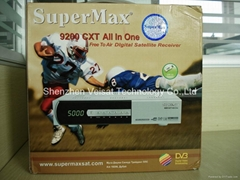 supermax 9200cxt all in one digital satellite receiver