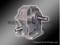WHX圆柱蜗杆减速机