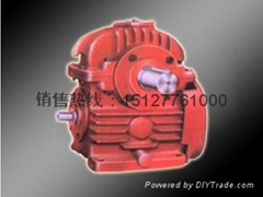 CWU蜗轮蜗杆减速机