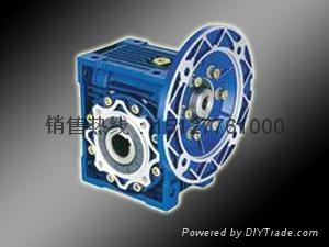 RV铝合金微型蜗杆减速机 1