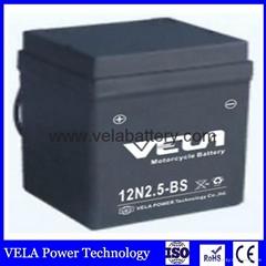 Wholesale Price 12N2.5-BS sealed 12v 2.5ah motorcycle lead acid battery