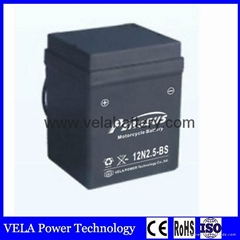 Wholesale Price 12N2.5-BS 12vV2.5AH Lead Acid Battery For e-bike