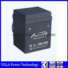 Wholesale Price 12N2.5-BS 12vV2.5AH Lead Acid Battery For e-bike