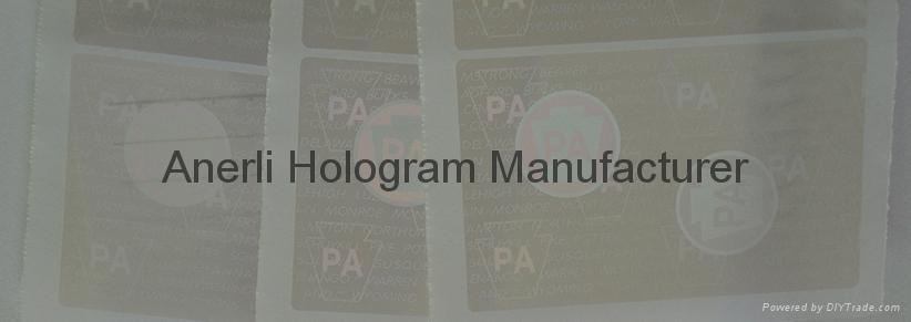 PA Pennsylvania hologram