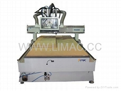 China LIMAC R4000D cnc router for door making