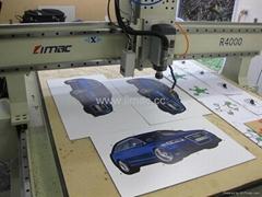 China LIMAC digital cutting machine