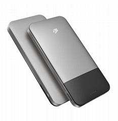 Wireless Storage + Powerbank 2in1