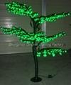 1.5M LED Christmas Artificial Bonsai Cherry Tree Lights 2