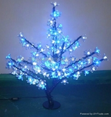2014 NEW Mini LED Cherry  Blossom Tree Lights for Home Garden Decoration